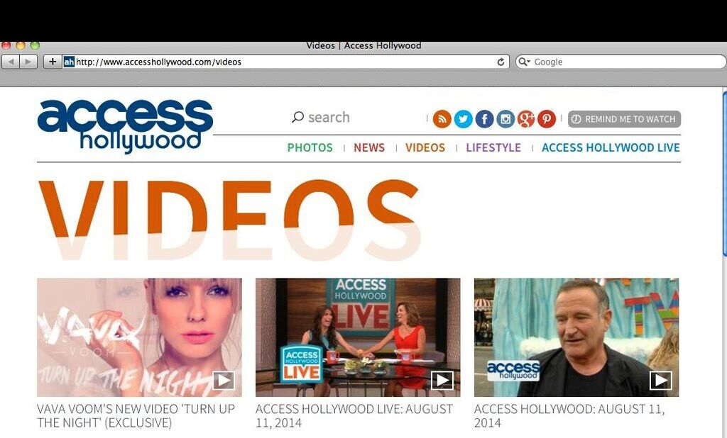 Access Hollywood, Press, US